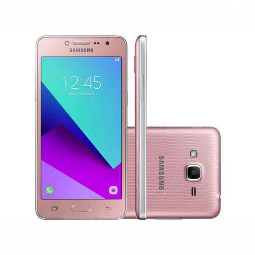 "Smartphone Samsung Galaxy J2 Prime TV Rose 5"" 8GB Dual Chip Quad Core 4G Câmera 8MP"