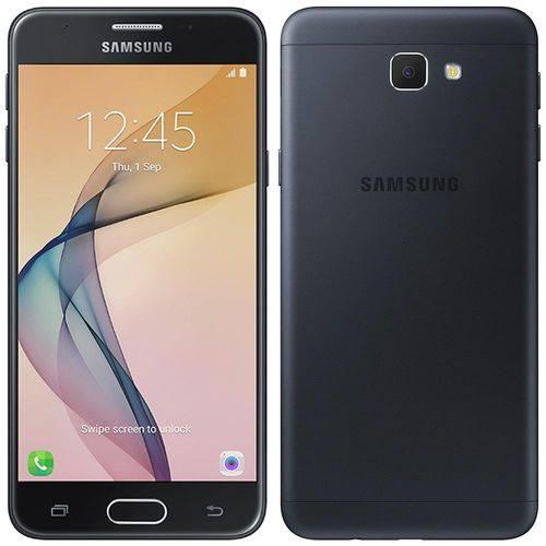 """Smartphone Samsung Galaxy J5 Prime, 5"""", 4G, Android 6.0.1, 13MP, 32GB - Preto"""