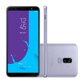 "Smartphone Samsung Galaxy J8 SM-J810M/DS Tela 6.0"" 64GB Wifi+4G 4GB 16MP+5MP Dual Chip Prata"
