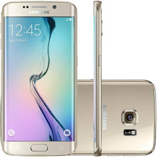 Smartphone Samsung Galaxy S6 Edge G925i 64gb Desbloqueado Dourado Claro