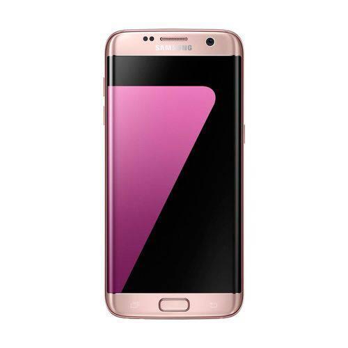 Smartphone Samsung Galaxy S7 Edge com Tela de 5.5'', 4G, 32GB, Câmera 12MP + Frontal 5MP e Android 6