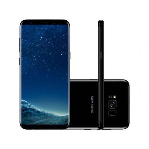 Smartphone Samsung Galaxy S8 + SM G955FD 64 GB Preto Imp