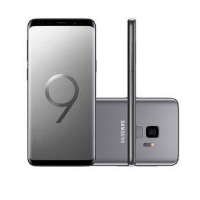 "Smartphone Samsung Galaxy S9 SM-G9600 128GB 4GB 5.8"" 12MP Dual Chip Android 8.0 Cinza"