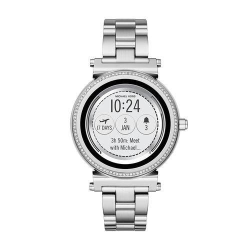 Smartwatch Michael Kors Feminino Sofie Prata - Mkt5020/1ki