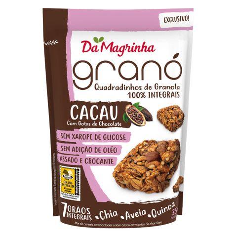 Snack Granola 7 Grãos Cacau 35g - da Magrinha