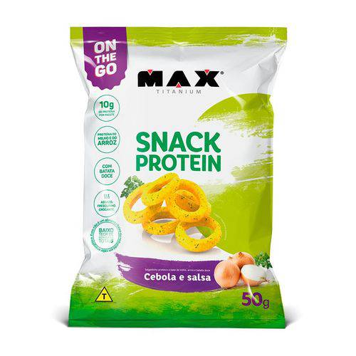 Snack Protein (salgadinho) 50g ¿ Max Titanium