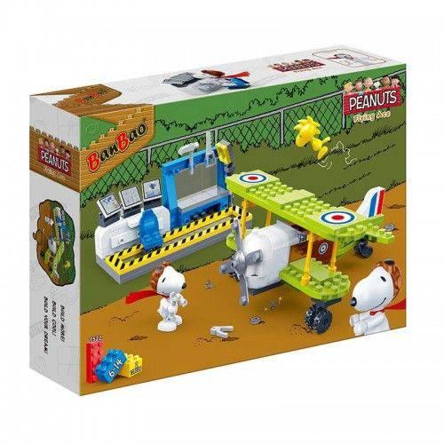 Snoopy Base da Força Aerea 215 Pçs- Banbao