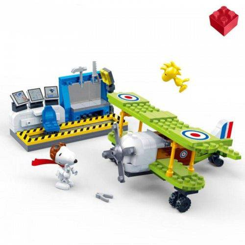 Snoopy Base da Força Aérea 215 Peças Banbao LEGO
