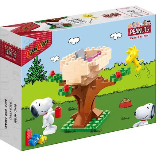 Snoopy Everiday Fun Casa do Woodstock 71 Peças - Banbao