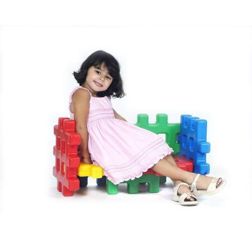 Sofá Monte Play Alpha Brinquedos Colorido