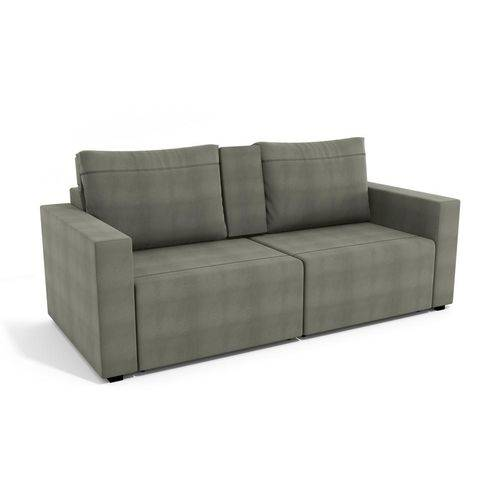 Sofa Retratil Virtus 3 Lugares Cafe