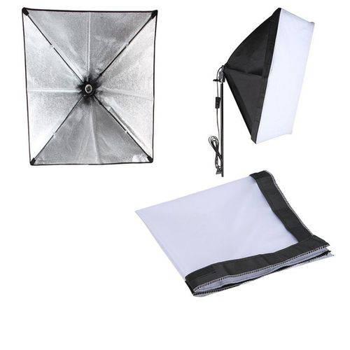 Softbox Tipo Sombrinha para Iluminação Continua E27 - 50x70cm