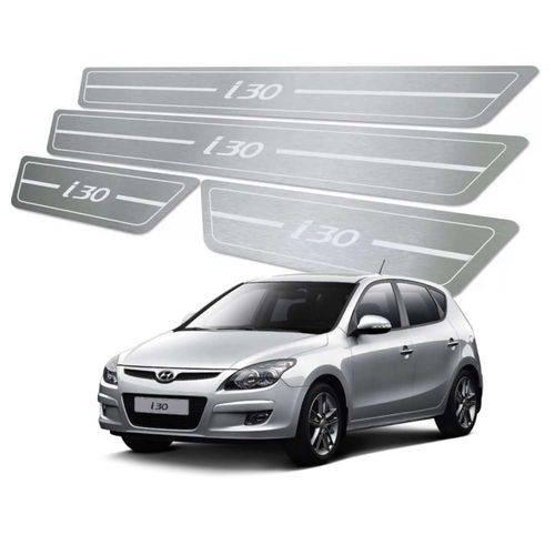 Soleira de Porta Hyundai I30 2009 Até 2012 Aço Inox