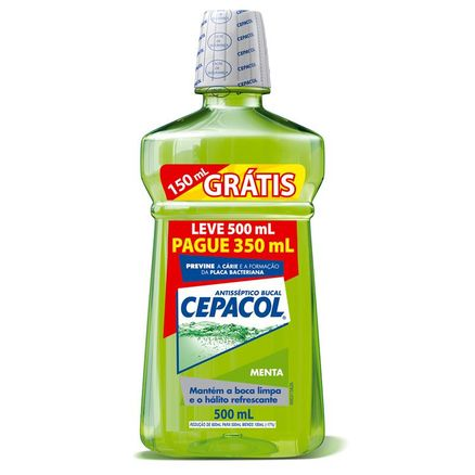 Solução Bucal Cepacol Menta Leve 500ml