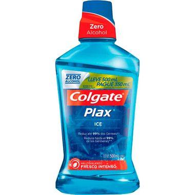 Solução Bucal Colgate Plax Ice Leve 500ml e Pague 350ml