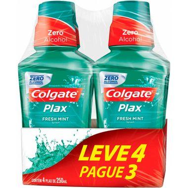 Solução Bucal Plax Fresh Mint Colgate Leve 4 Pague 3 250ml