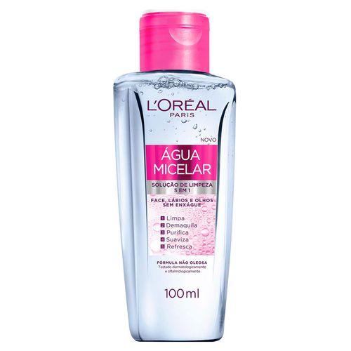 Solução de Limpeza Facial L'Oréal Água Micelar 100ml