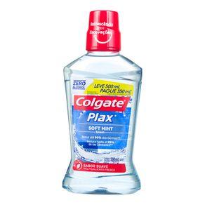 Solução Plax Soft Mint Colgate 350mL