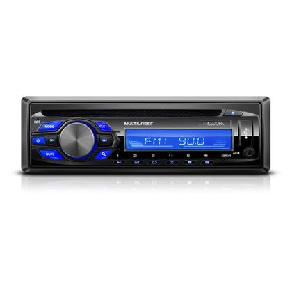 Som Automotivo MP3 Player Multilser Freedom Radio CD USB 4X25W - P3239 P3239
