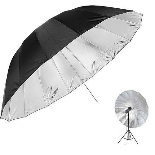 Sombrinha para Estúdio Fotográfico Rebatedora Prata - 190cm