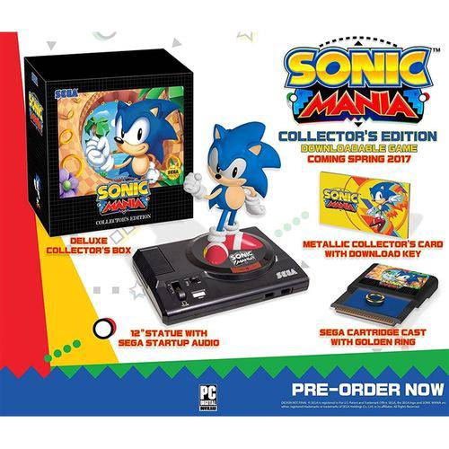 Sonic Mania Collector's Edition – Ps4