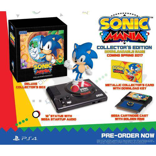 Sonic Mania Collector's Edition - Ps4