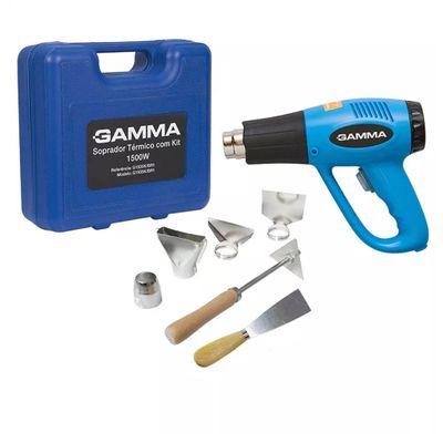 Soprador Térmico Gamma G1935KBR com Maleta e Acessórios G1935KBR2 220V