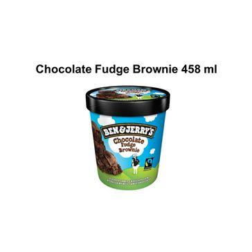 Sorvete Ben&Jerrys Choco Fudge Brownie 458ml