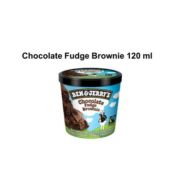 Sorvete Ben&Jerrys Chocolate Fudge Brownie 120ML
