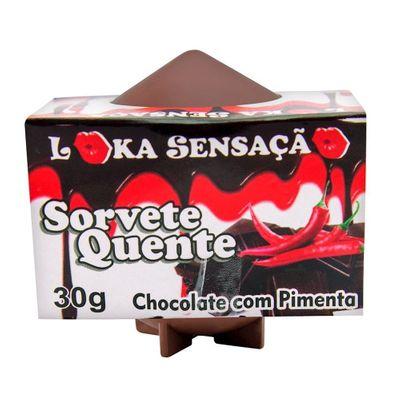 SORVETE QUENTE LOKA SENSAÇÃO SS653 Chocolate com Pimenta