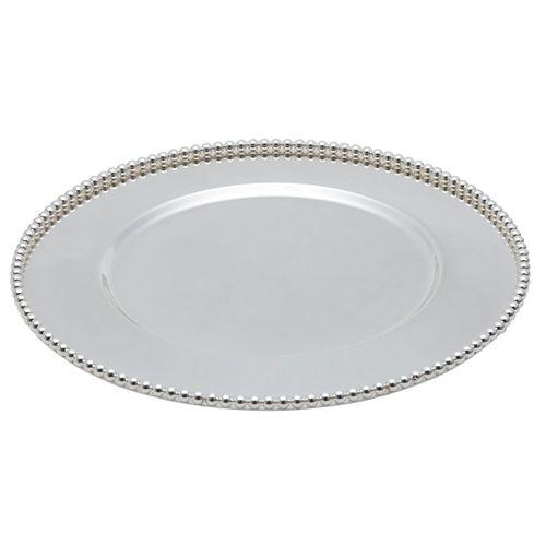 Sousplat Balls 32cm - Silver Plated