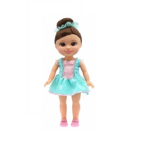 Sparkle Girlz - Boneca Bailarina 35cm - Morena - DTC