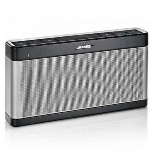 Speaker Portátil Bose Soundlink Iii Bluetooth Cinza