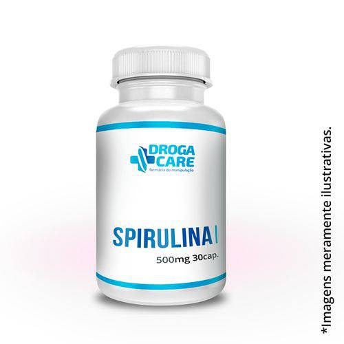 Spirulina 500mg - 30 Cápsulas
