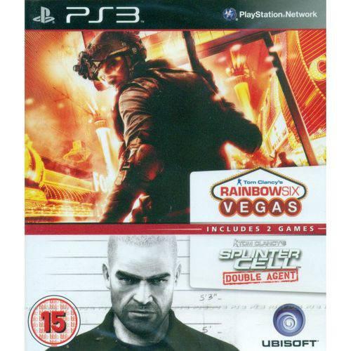 Splinter Cell Double Agent / Rainbow 6 Vegas - PS3