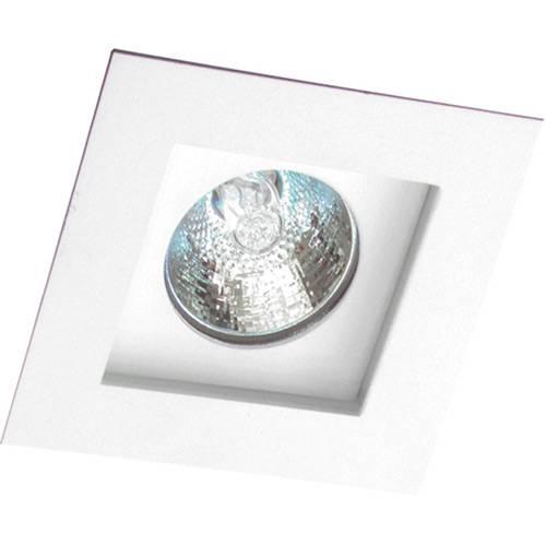 Spot Embutir Flat/1 Gu10 Alumínio Branco - Attena