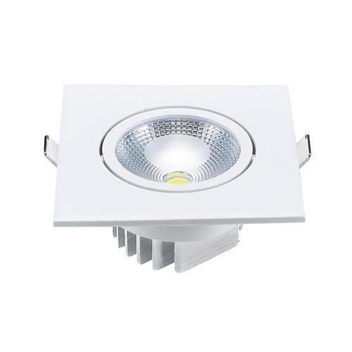 Spot Embutir Quadrado Led 5w - 3000k Ol Iluminação