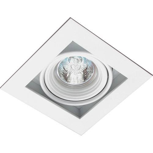 Spot Embutir Saturno/1 Gu10 Alumínio Branco - Attena