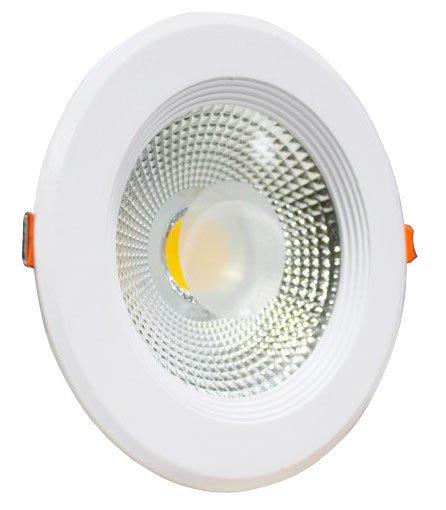 Spot LED COB 7w Embutir Redondo Bivolt Maxtel