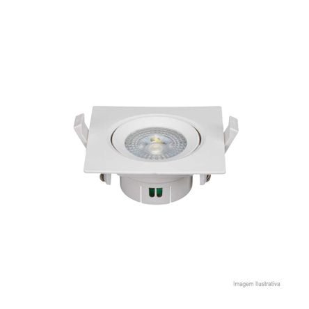 Spot LED Quadrado 5W 6500K Bivolt OL