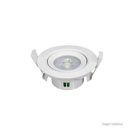 Spot LED Redondo 5W 3000K Bivolt OL
