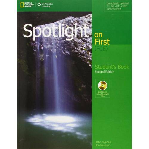 Spotlight On First Sb With Dvd-Rom - 2nd Ed