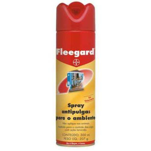 Spray Antipulgas para Ambientes Fleegard Bayer 300mL