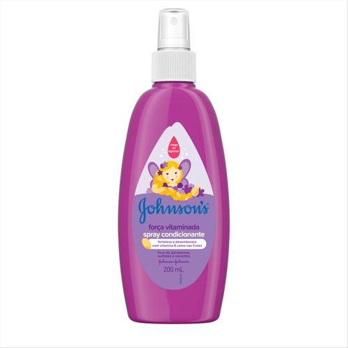 Spray Johnsons Baby Força Vitaminada 200ml