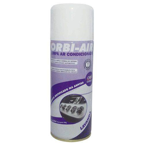 Spray Limpa Ar Condicionado Automotivo Lavanda 200ml/140g - Orbi Química