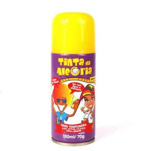 Spray para Cabelos Tinta da Alegria 120ml Amarelo