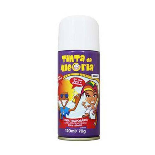 Spray para Cabelos Tinta da Alegria 120ml Branco