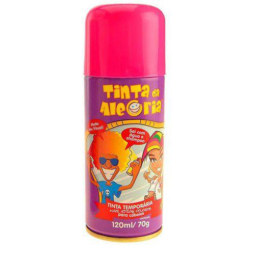 Spray para Cabelos Tinta da Alegria 120ml Pink