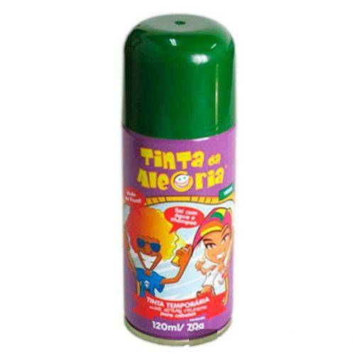 Spray para Cabelos Tinta da Alegria 120ml Verde