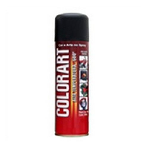Spray Preto Alta Temperatura Colorart